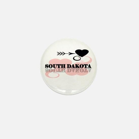 South Dakota Mini Button