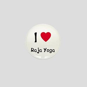 I love Raja Yoga Mini Button