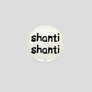 shanti shanti Mini Button