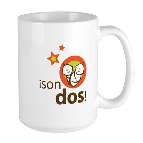 Son Dos - It's Two Large Mug