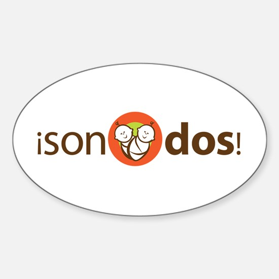 Son Dos - It's Two Oval Decal