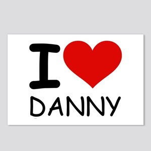 I LOVE DANNY Postcards (Package of 8)