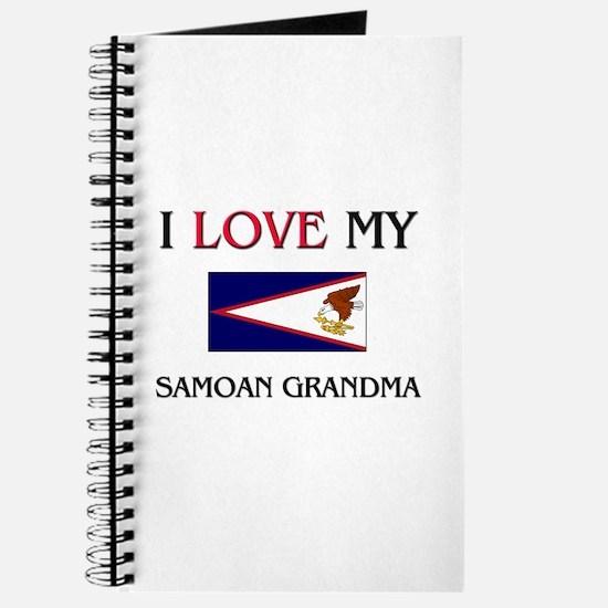 I Love My Samoan Grandma Journal