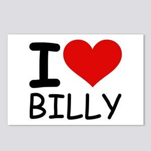 I LOVE BILLY Postcards (Package of 8)