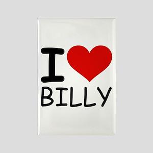 I LOVE BILLY Rectangle Magnet