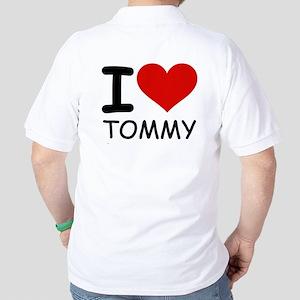 I LOVE TOMMY Golf Shirt