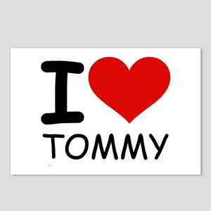 I LOVE TOMMY Postcards (Package of 8)
