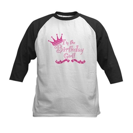 BirthdayGirl2 Kids Baseball Jersey