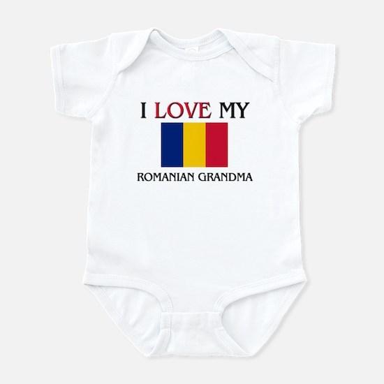 I Love My Romanian Grandma Infant Bodysuit