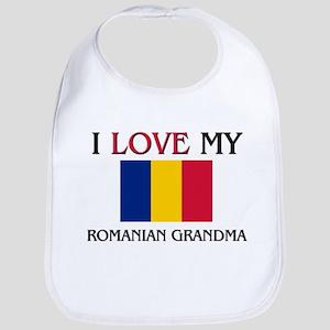 I Love My Romanian Grandma Bib