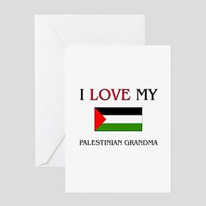 I Love My Palestinian Grandma Greeting Card