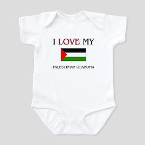 I Love My Palestinian Grandma Infant Bodysuit