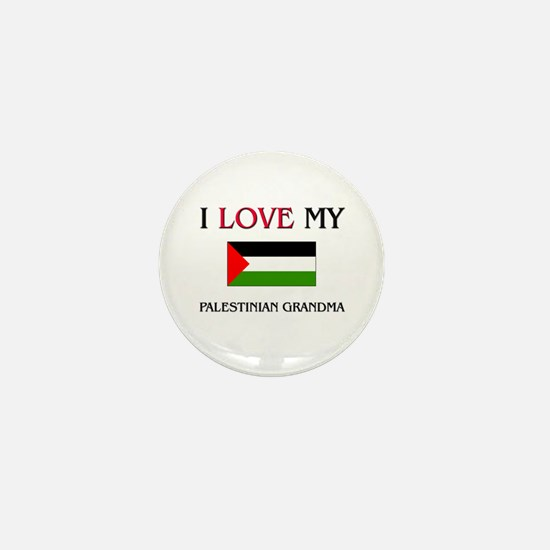 I Love My Palestinian Grandma Mini Button