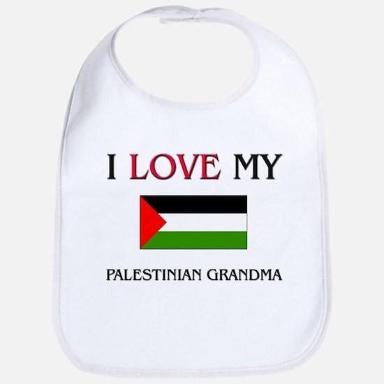 I Love My Palestinian Grandma Bib
