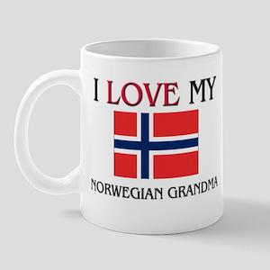 I Love My Norwegian Grandma Mug