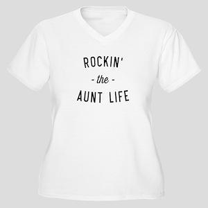 Rockin the aunt life Plus Size T-Shirt