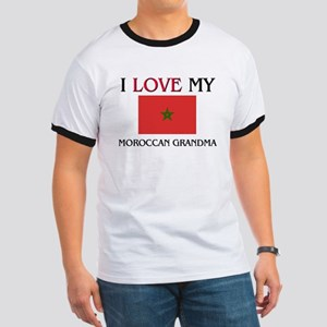 I Love My Moroccan Grandma Ringer T