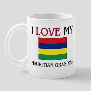 I Love My Mauritian Grandma Mug