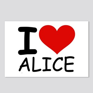 I LOVE ALICE Postcards (Package of 8)