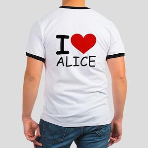 I LOVE ALICE Ringer T