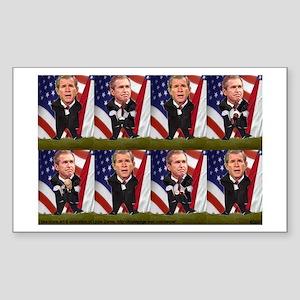 Georgie Porgie Rectangle Sticker