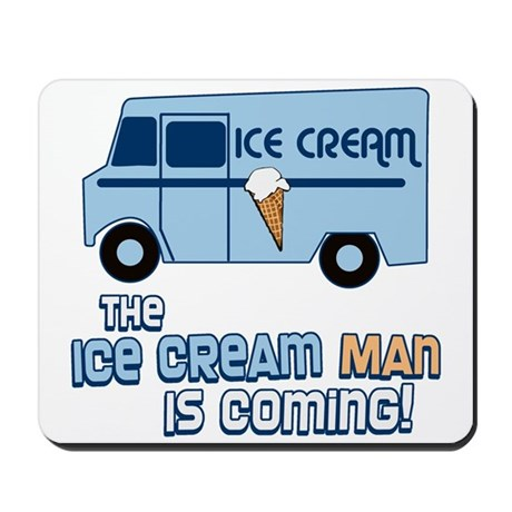 Ice Cream Man Mousepad