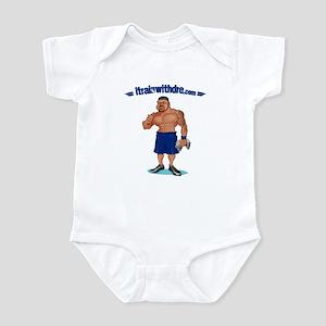 Dre with logo Infant Bodysuit