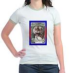 50th Birthday Gifts, Tigress Jr. Ringer T-Shirt