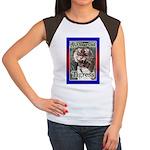50th Birthday Gifts, Tigress Women's Cap Sleeve T-