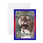 50th Party Invitations Greeting Cards (Pk of 10)