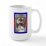 50th Birthday Gifts, Tigress Large Mug