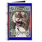 50th Birthday Gifts, Tigress Journal