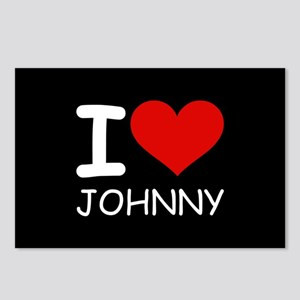 I LOVE JOHNNY Postcards (Package of 8)
