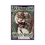 50th Birthday Gifts Rectangle Magnet (100 pack)