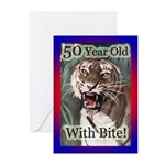 50th Birthday Gifts Greeting Cards (Pk of 20)