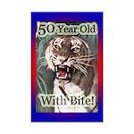 50th Birthday Gifts Mini Poster Print