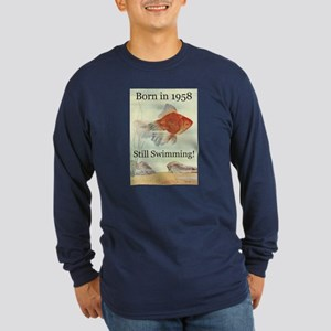 50th Birthday Gifts Long Sleeve Dark T-Shirt