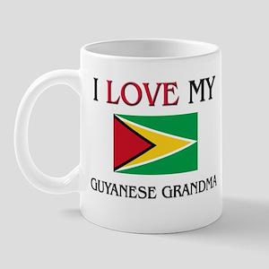 I Love My Guyanese Grandma Mug