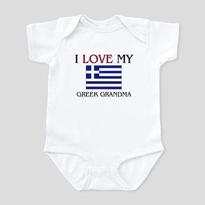 I Love My Greek Grandma Infant Bodysuit