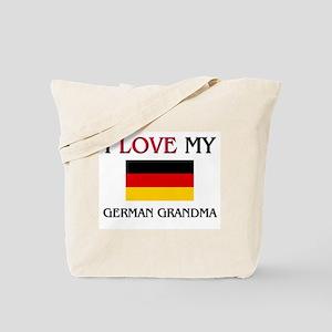 I Love My German Grandma Tote Bag