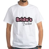 Brides bitches Mens Classic White T-Shirts