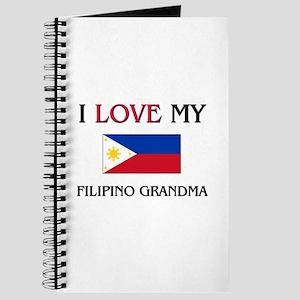 I Love My Filipino Grandma Journal