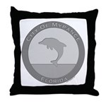 Mypance City Seal Throw Pillow
