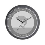 Mypance City Seal Wall Clock
