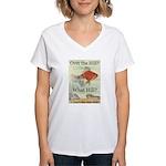 Over the Hill Women's V-Neck T-Shirt