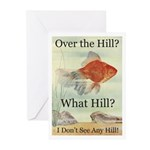 Over the Hill Greeting Cards (Pk of 20)