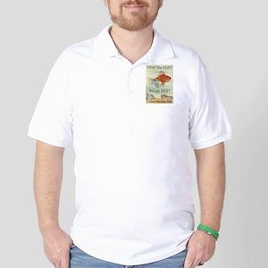 Over the Hill Golf Shirt