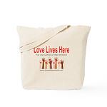 LLH Hands Tote Bag