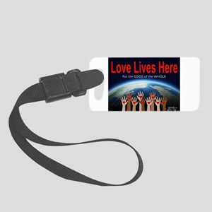 Llh Full Logo Small Luggage Tag
