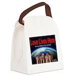 LLH full logo Canvas Lunch Bag